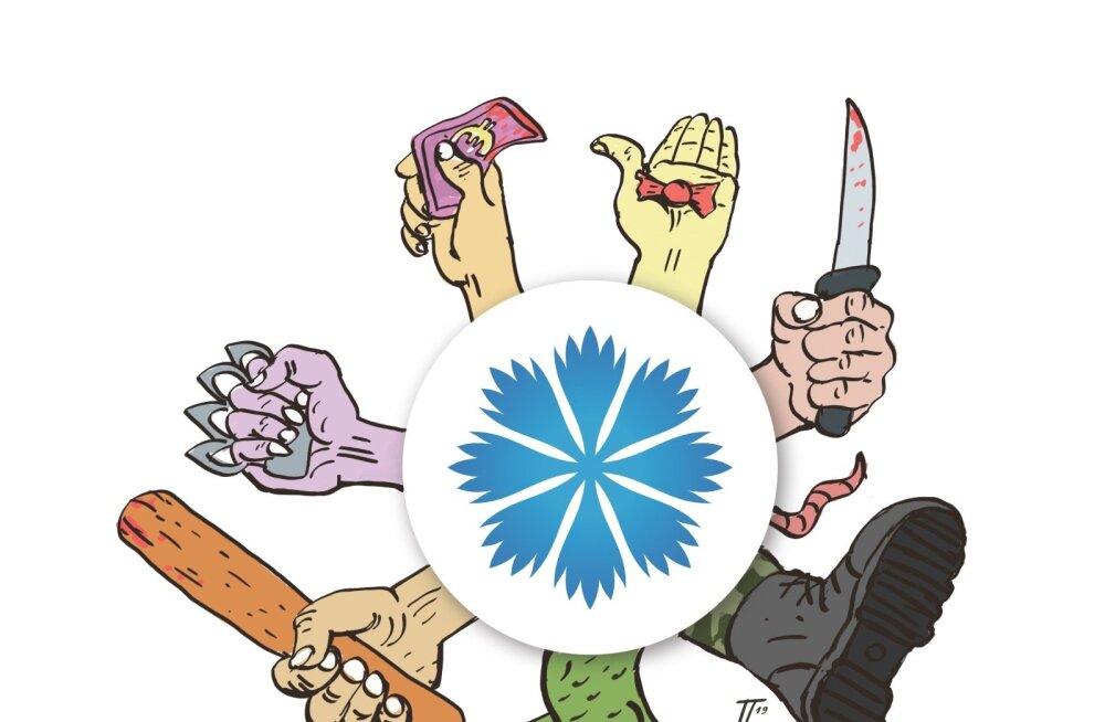Kokku on Eesti Konservatiivses Rahvaerakonnas 264 seadusrikkujat. Täpselt pooled neist on sooritanud räige kuriteo.