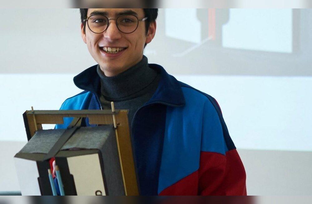 Eesti Kunstiakadeemia tootedisainiosakonna üliõpilased mõtestasid koostöös tehnoloogiaettevõttega Cleveron ümber droonivedu