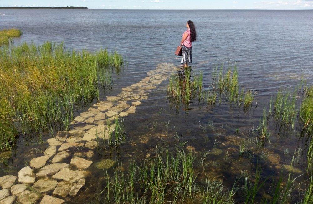 Sild Saaremaalt mandrile.
