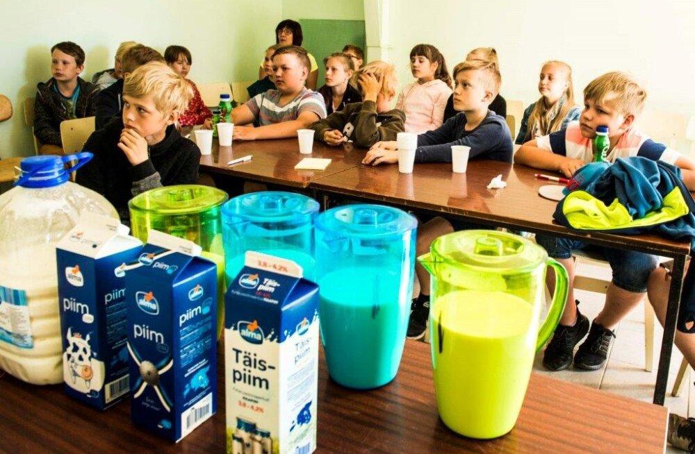 Lapsed tunnevad hea piima ära
