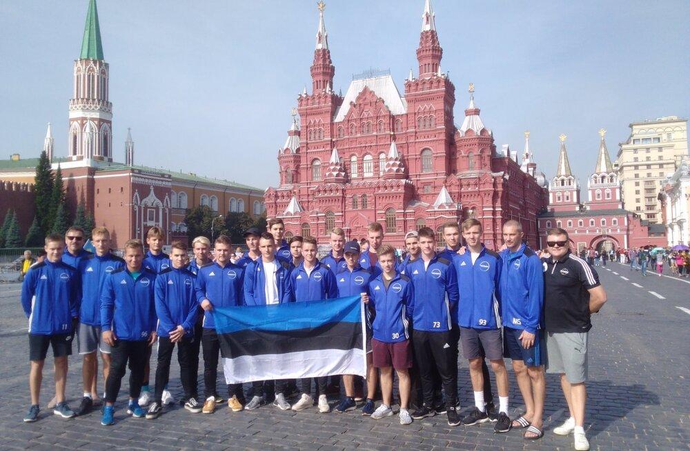 Eesti U19 saalihokikoondis
