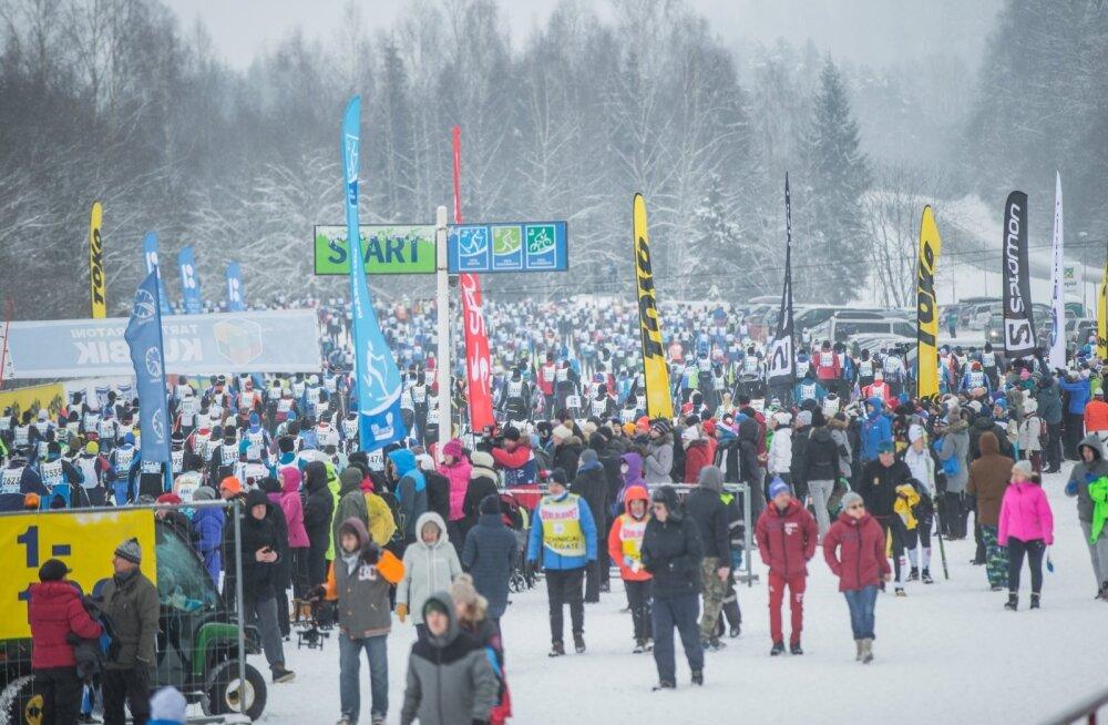 45. Tartu Maraton Otepäält Elvasse