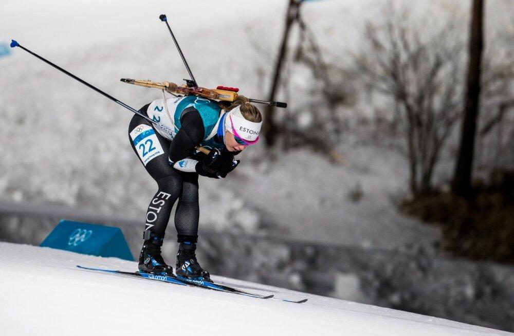 Johanna Talihärm on üks laskesuusatajaid, kes võiks järgmisel olümpial midagi korda saata.