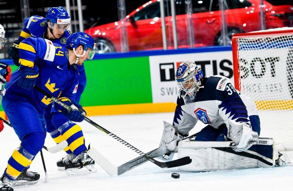 Jäähoki Rootsi vs Prantsusmaa