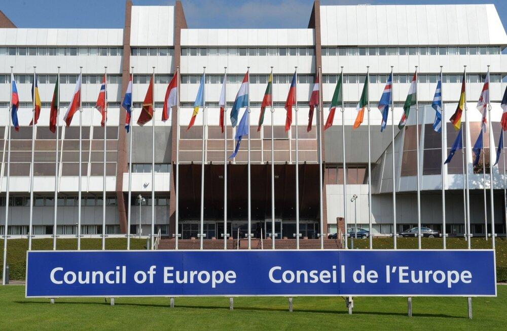 Euroopa Nõukogu hoone Strasbourgis