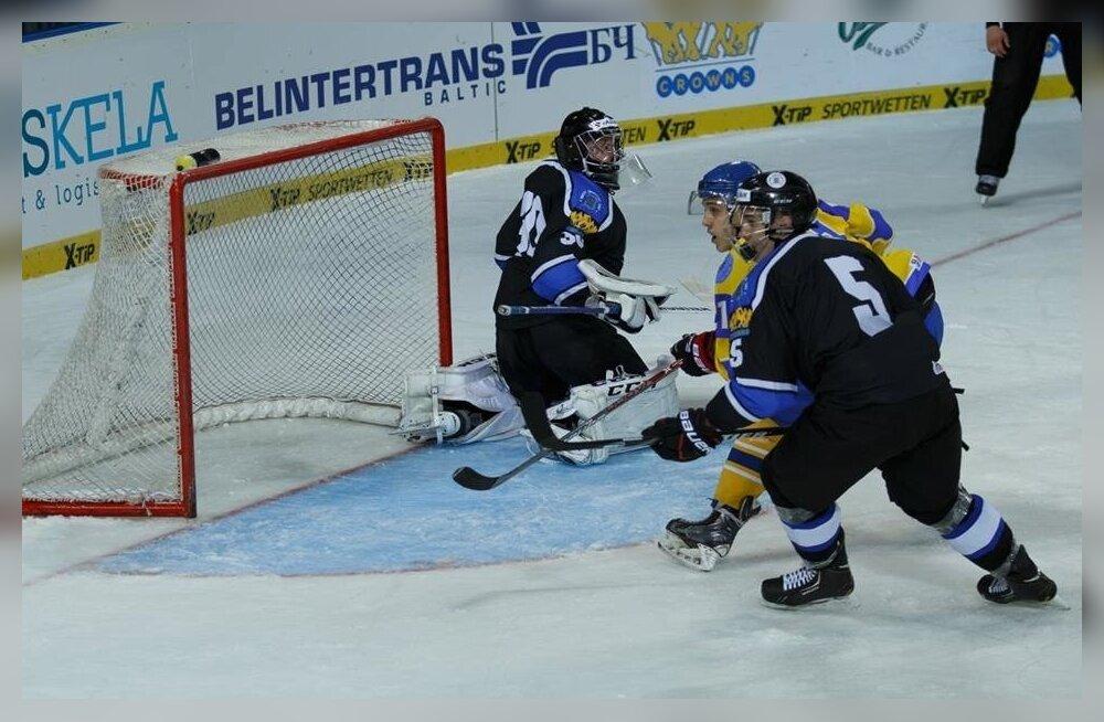 Jäähoki Eesti vs Ukraina