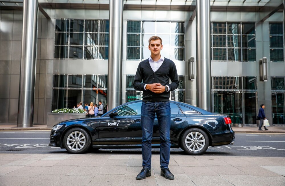 Taxify Londonis, Taxify tegevjuht Markus Villing