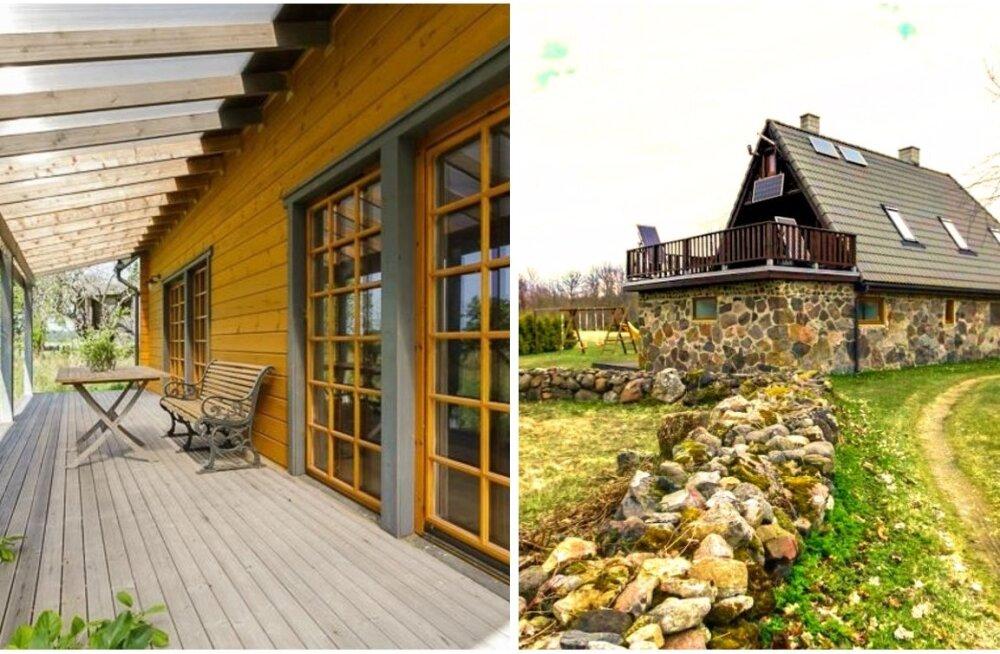 ФОТО: Подборка самых уютных и перспективных домов, выставленных на продажу в Ляэнемаа