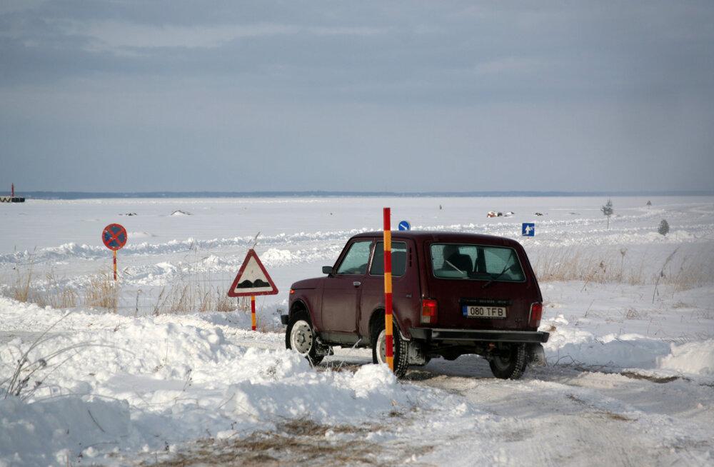 MEIE MAA | Jääteedele tänavu suurt lootust ei ole