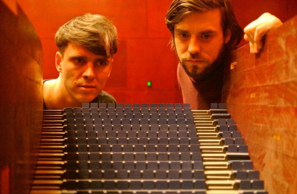 Henri Hütt (vasakul) ja Mihkel Ilus