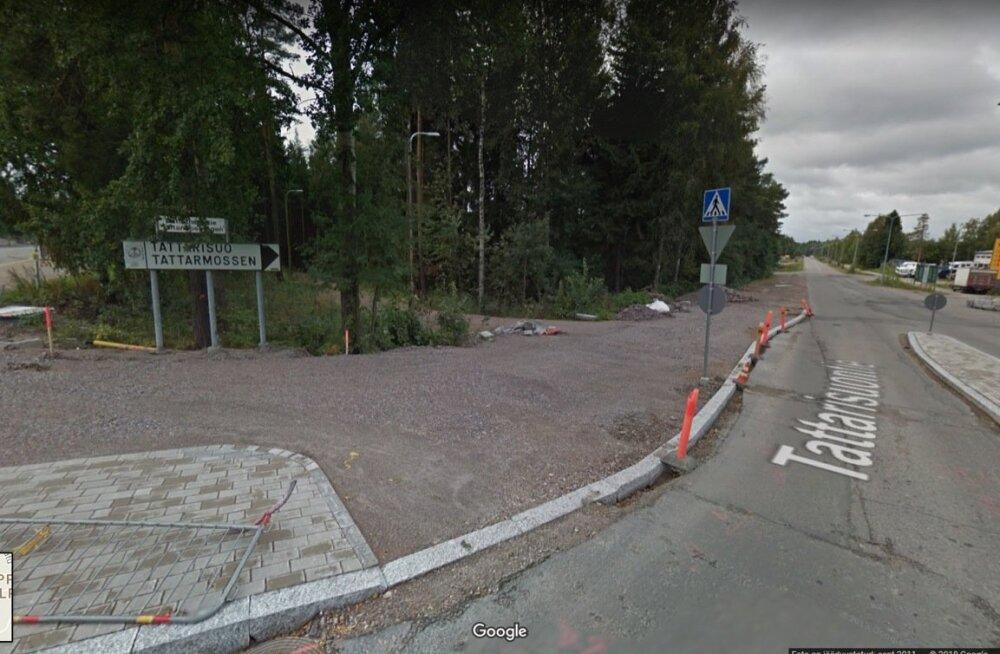 Tattarisuo – Helsingi tööstuspiirkond, kuhu ohvreid autoga viidi ja kus nende kallal kasutati jõhkrat vägivalda.