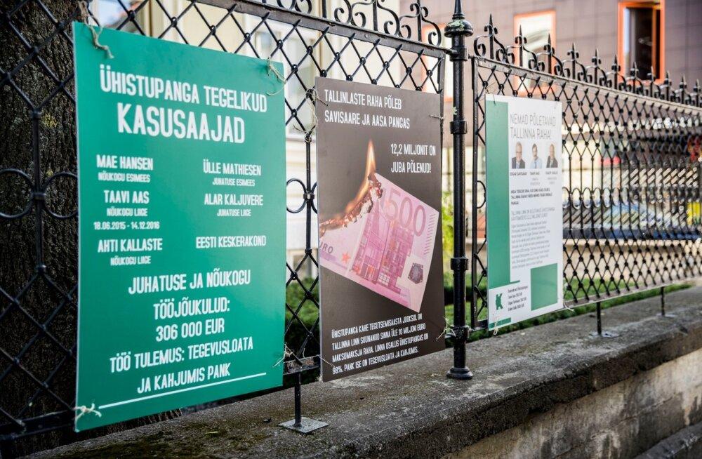 Ardo Ojasalu Ühistupanga teemal: Tallinna maksumaksjate raha põletamine tuleb lõpetada!