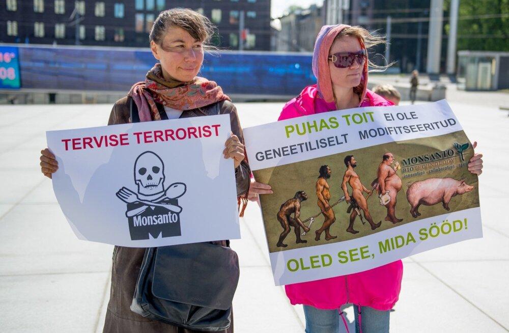 Protestiaktsioon Monsanto vastu