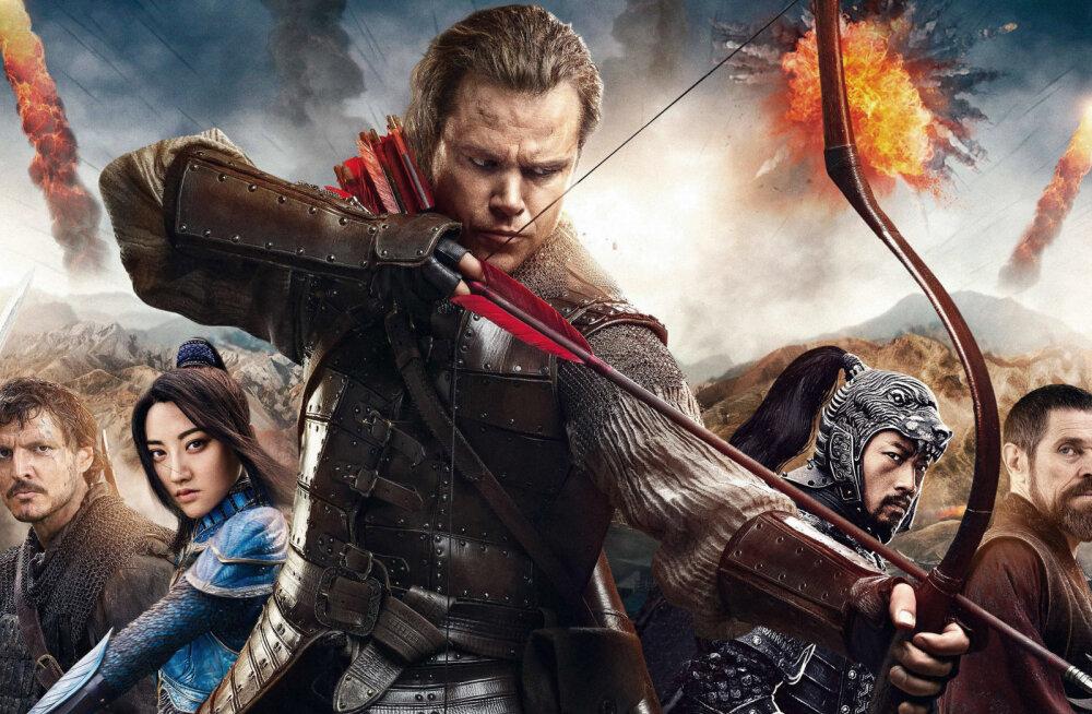 """Hiina õppejõud filmist """"Suur Hiina müür"""": meelelahutuseks mõeldud kunstiline tõlgendus ei muuda ajaloolisi fakte"""