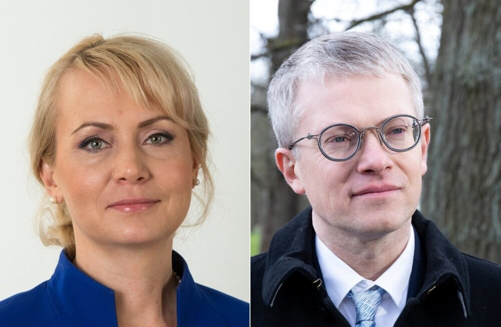 Riina Solman ja Janek Mäggi