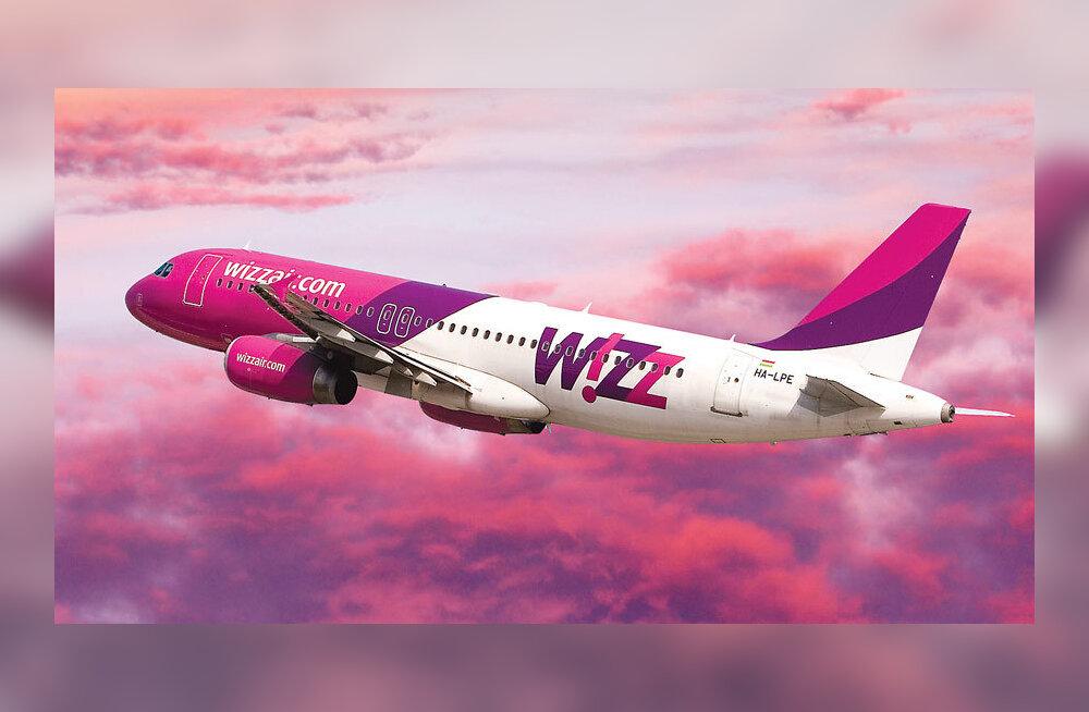 С 29 октября ручная кладь в Wizz Air станет бесплатной