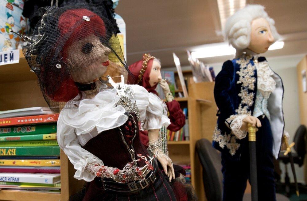 Gerri Orgma nukud Jõhvi keskraamatukogus