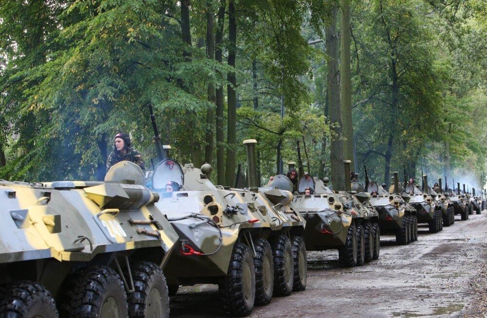 Diena: Läti on õppuste Zapad-2017 ajal valmis provokatsioonideks