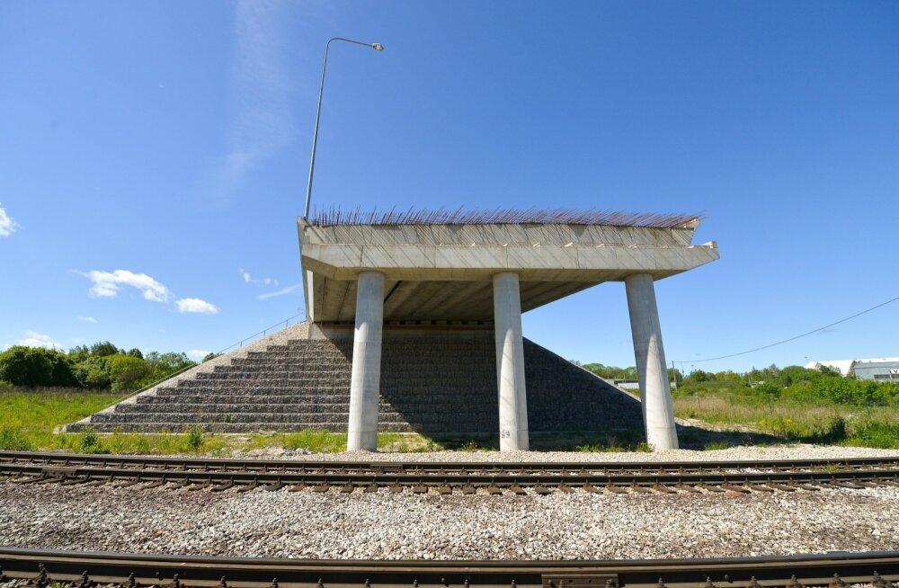 Väo-Maardu viadukti ehitamine