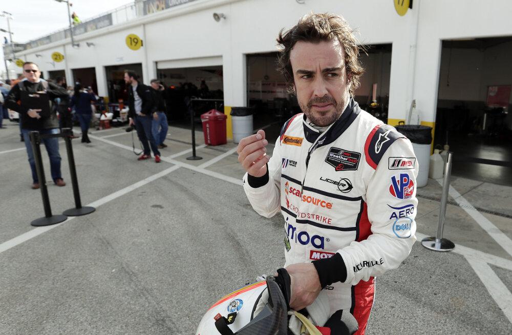 FOTO | Dopingukütid ajasid kahekordse F1 maailmameistri kell 6 hommikul üles