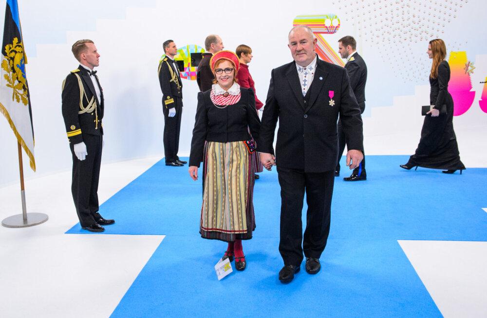 MEIE MAA   Saarlased: presidendi vastuvõtt oli sünnipäeva vääriline