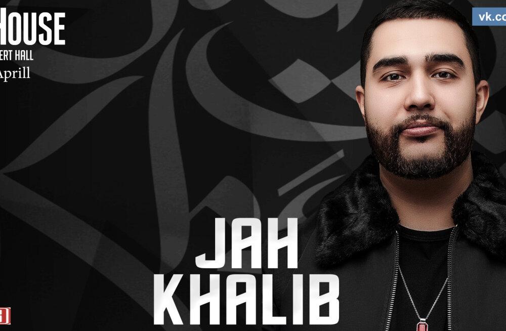 """В Таллинне с """"живой"""" программой выступит JAH Khalib"""