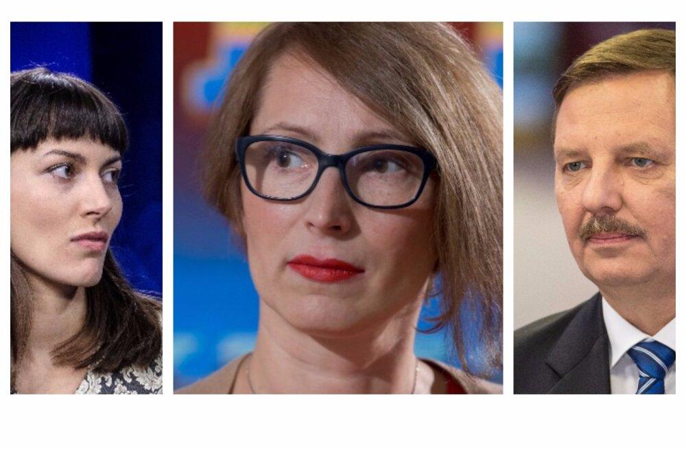 Züleyxa Izmailova, Evelyn Sepp, Taavi Aas