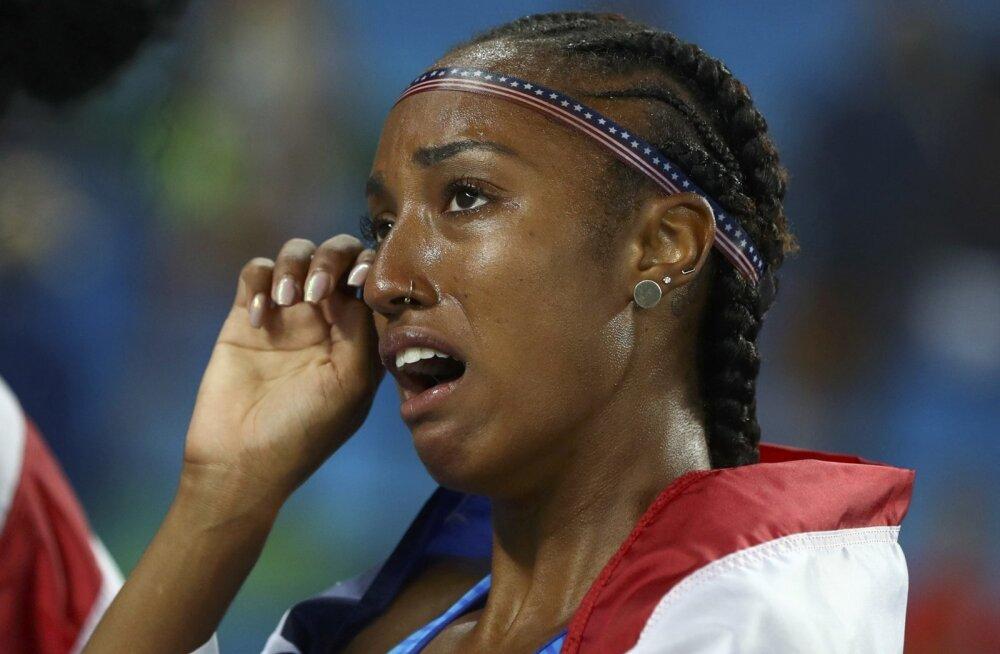 Brianna Rollinsi rõõmupisarad Rio de Janeiro olümpial