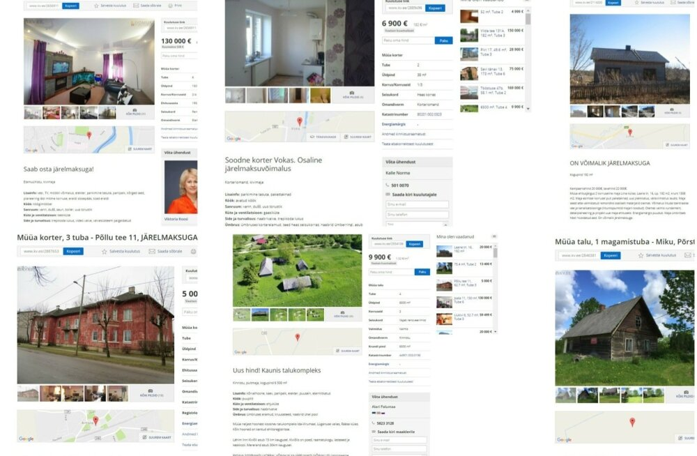 Недвижимость в рассрочку: последняя надежда некредитоспособного покупателя в Эстонии
