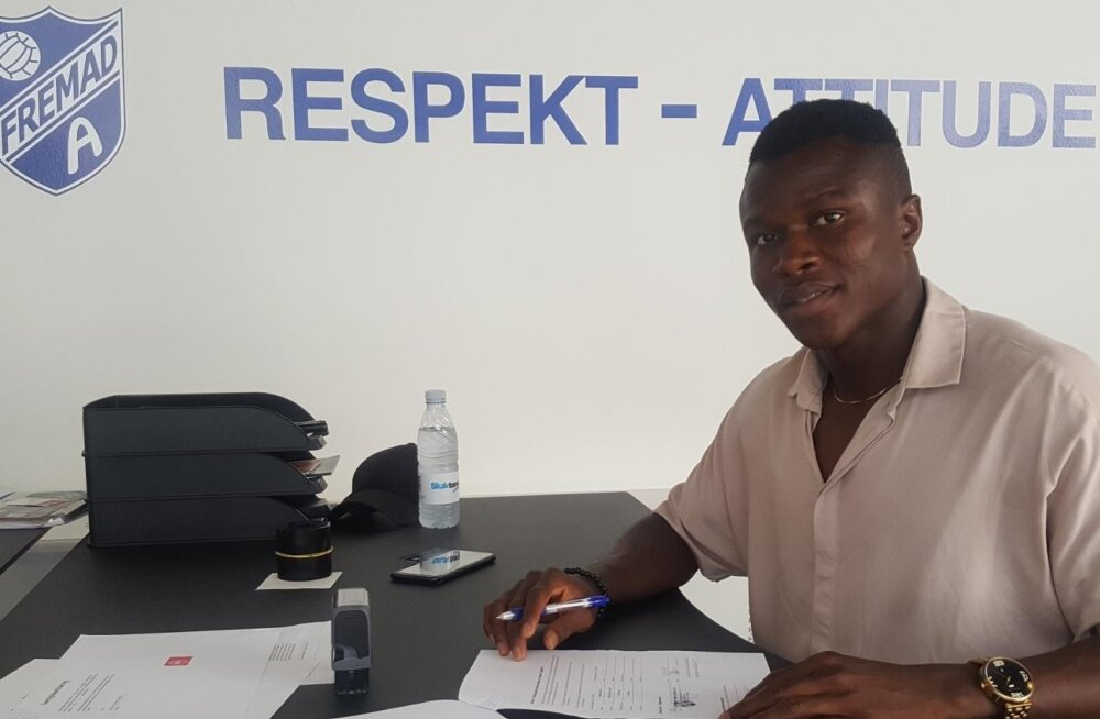 Samson Iyede jätkab karjääri Taanis.