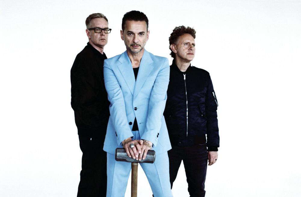 Depeche Mode tähistas uue stuudioalbumi ilmumist kontserdiga Berliinis