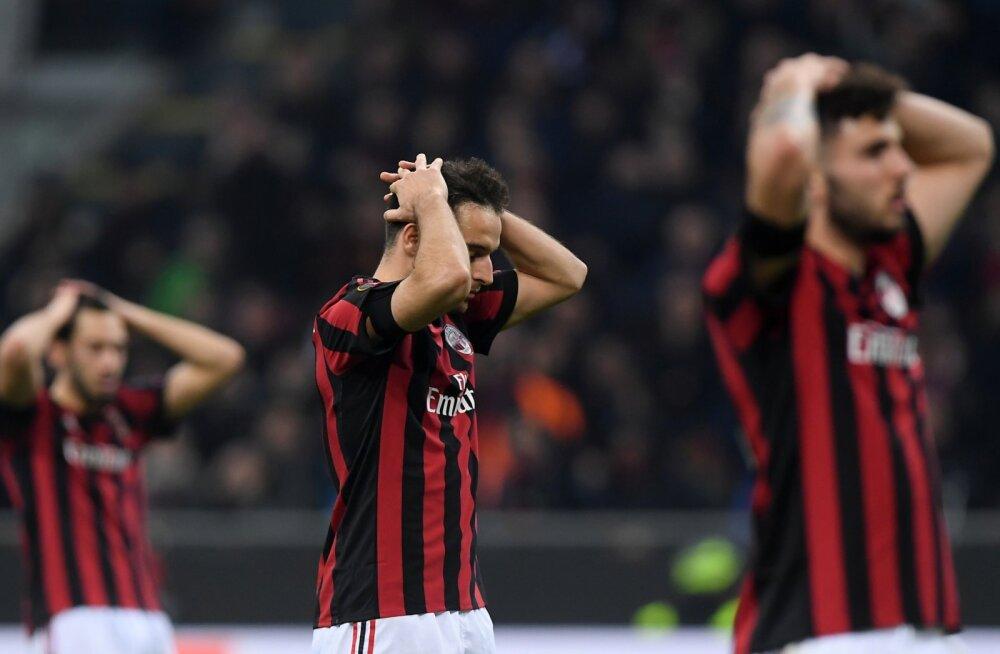 Euroopa liiga: Arsenal lõi Milanile võõrsil kaks väravat, Dortmund kaotas Salzburgile