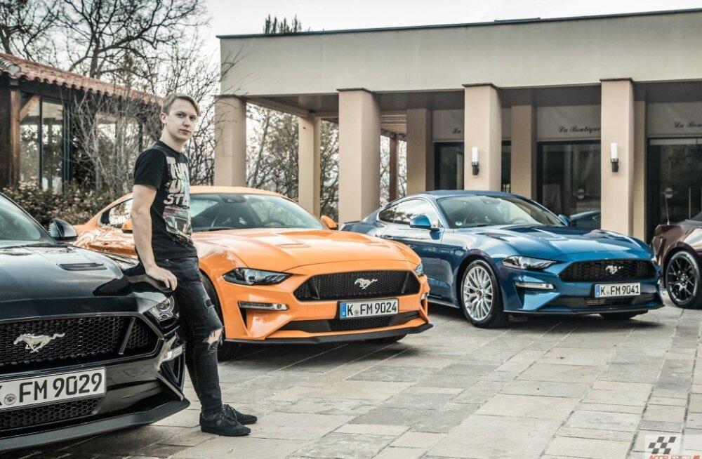 Uus Ford Mustang – vähem juttu, rohkem musklit ja parem automaatkast!