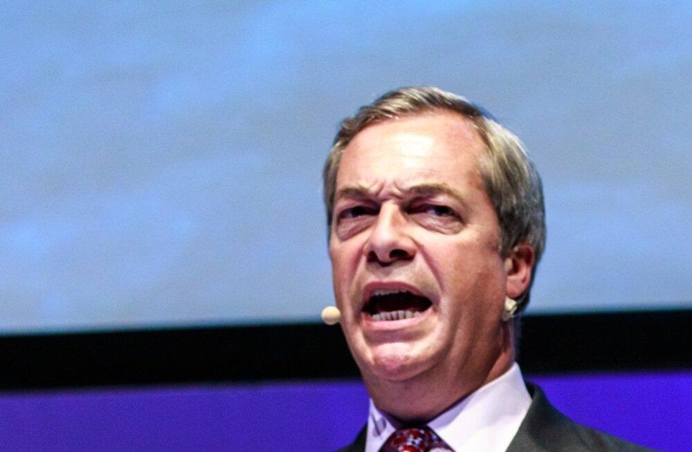 Tuntud Brexiti algataja ja pooldaja Nigel Farage leidis, et europarlament võiks Mayle sümboolse koondamisteate saata.