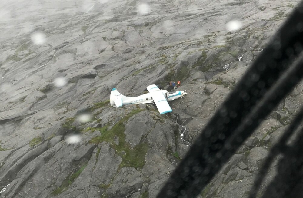 Alaskal eile õnnetusse sattunud lennuki kõik reisijad jäid ellu