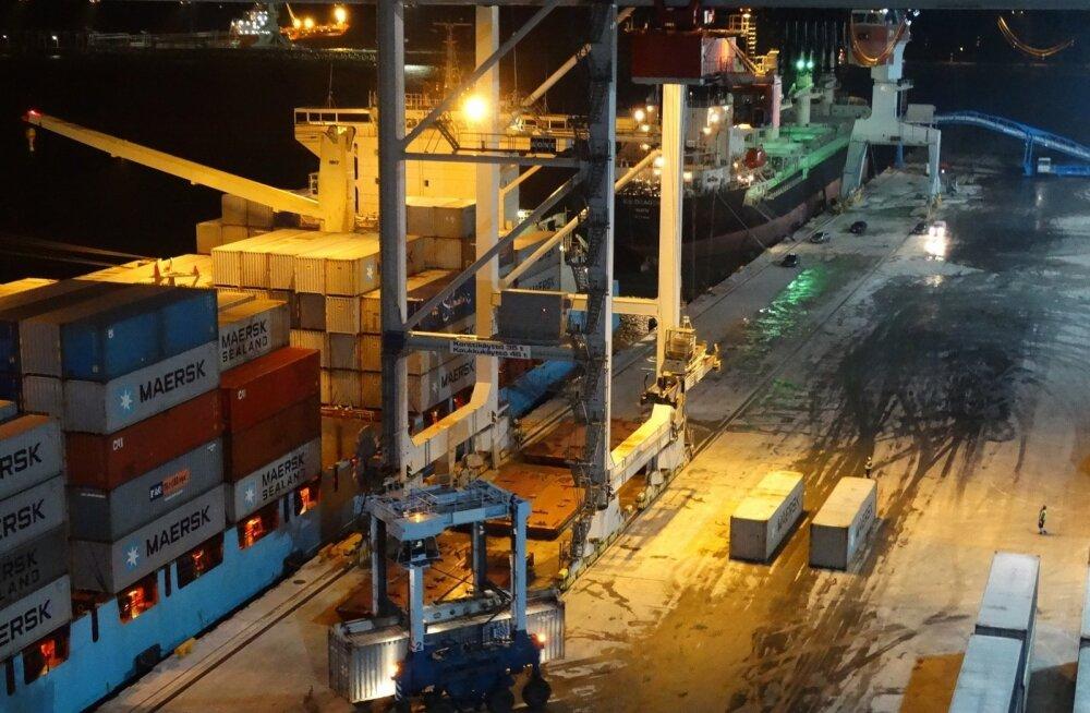 Sillamäe sadama uus konteineriterminal