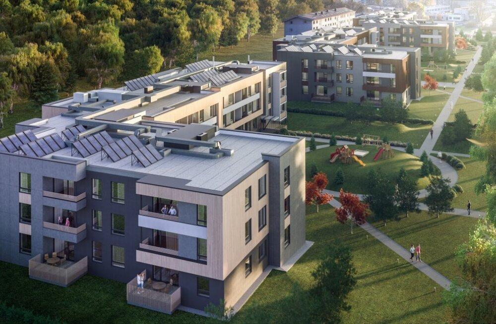Nordecon ehitab Sauele ligi 4 miljoni euro eest kortermaja