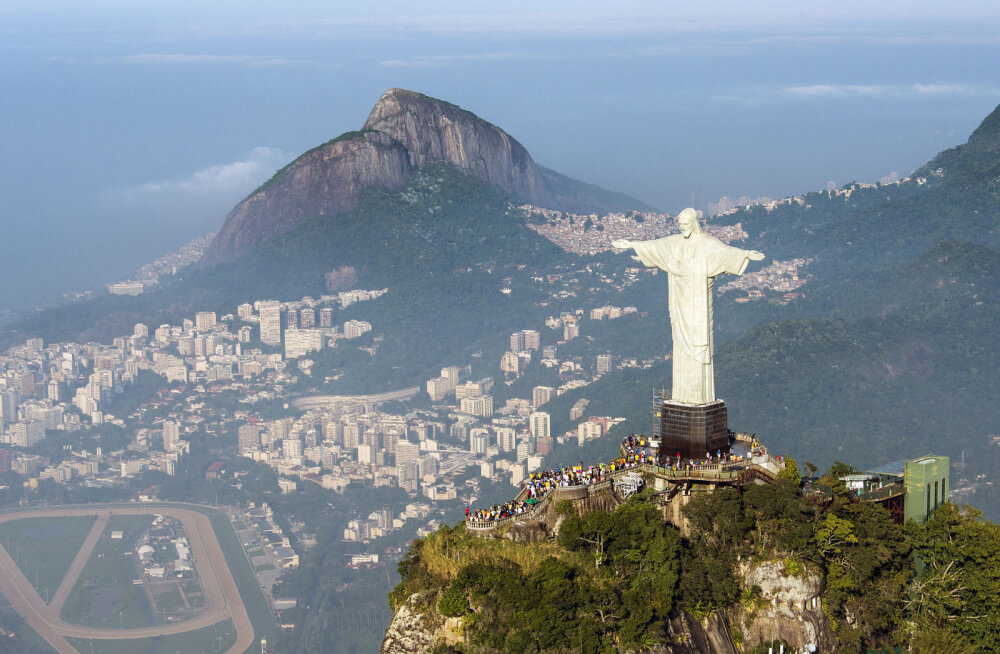 Rio Kristuse kuju - eurooplaste kingitus, kuigi raadio isa Marconi panus jäi poolikuks