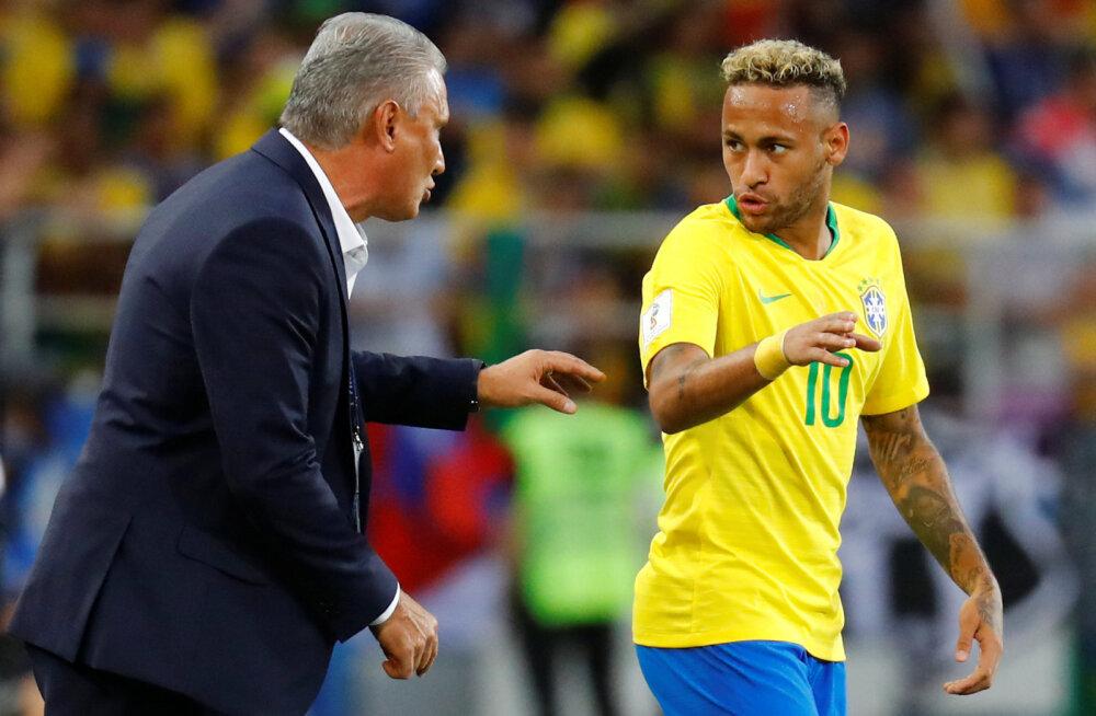Tite ja Neymar