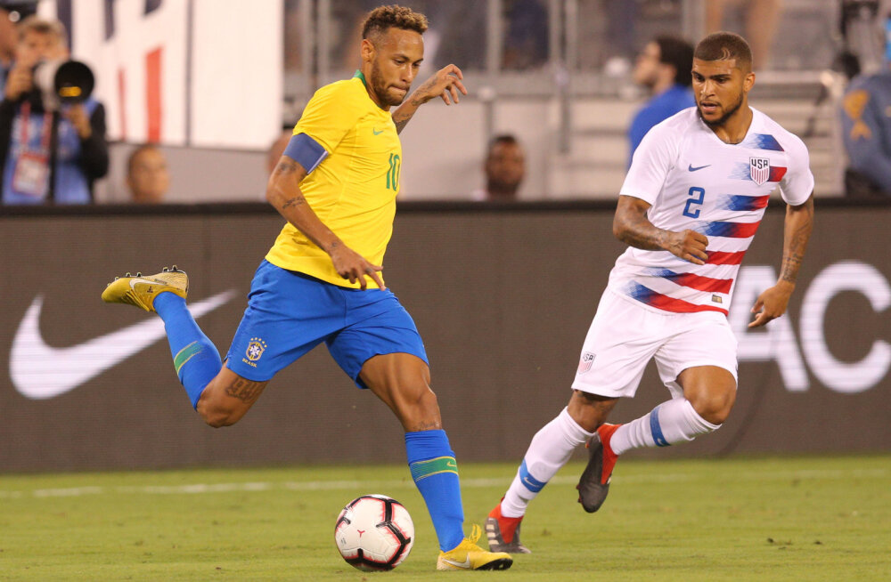 VIDEO   USA kaitsja proovis kohtunikku veenda Neymari sukeldumises: kas sa ikka jalgpalli MM-i nägid?