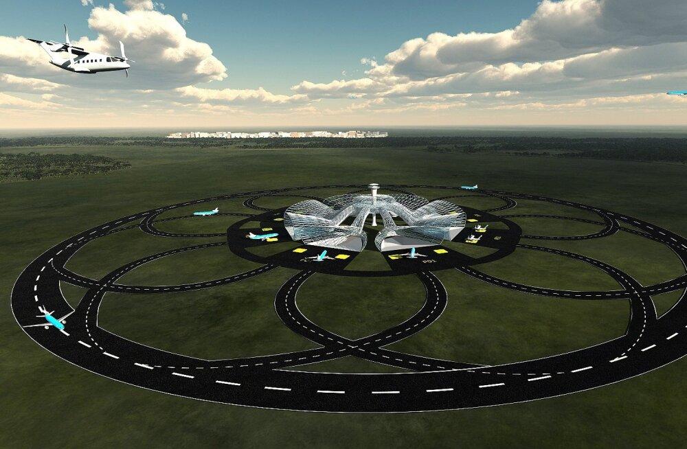 Hesselinki tiimi kinnitusel suudaks rada teenindada nelja lennukit korraga. Ringi diameeter oleks 3,5 km, kogupikkus 10 km. See tähendab, et reisijad ei tunneks end nagu karussellil, vaid pigem nagu kurvi läbivas kiirrongis.