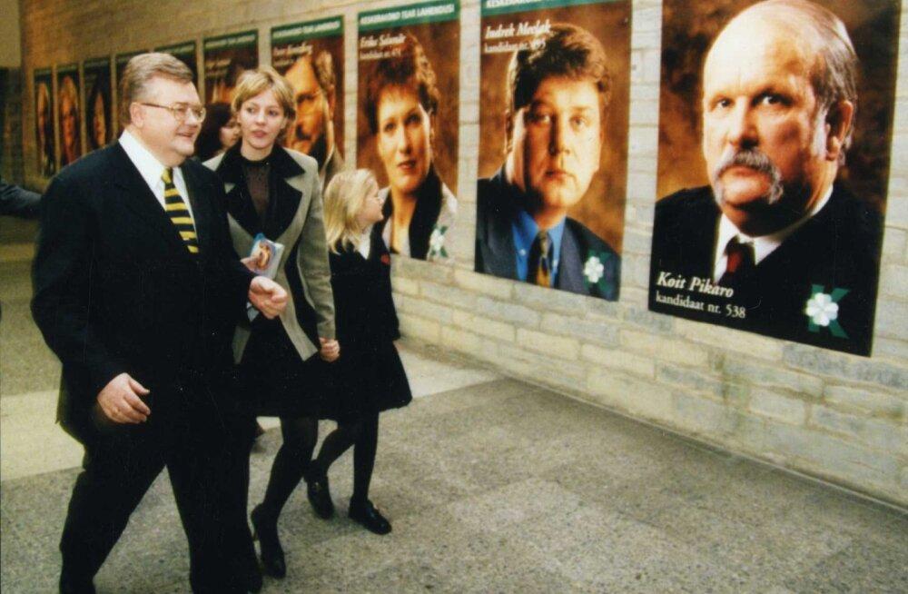 Uued kandidaadid Riigikogu valimistel aastal 1999