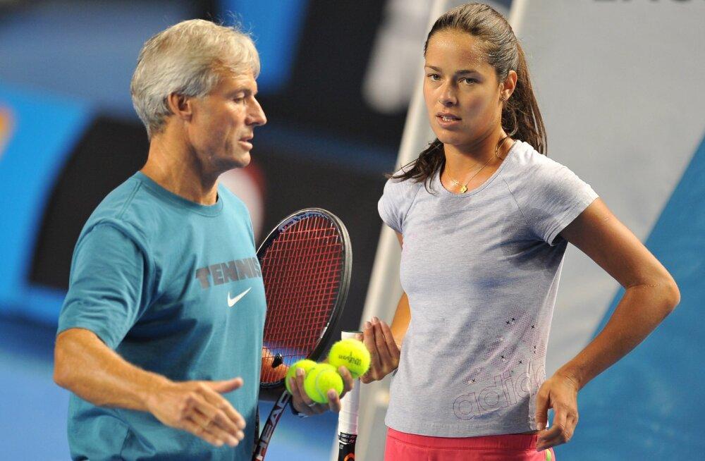 Nigel Sears ja Ana Ivanovic