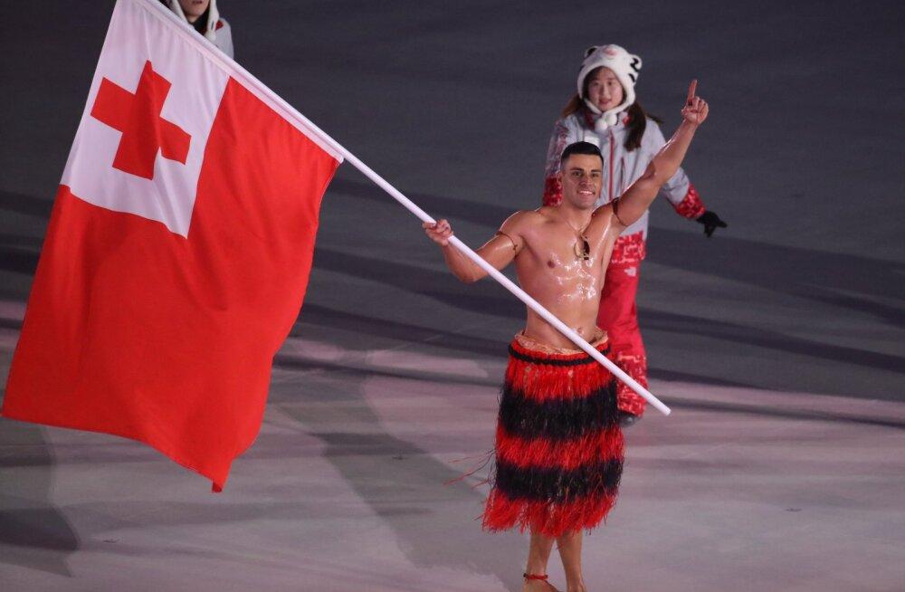 Paljastatud! Õlise lipukandjana kuulsaks saanud Tonga sportlane pääses taliolümpiale pettusega
