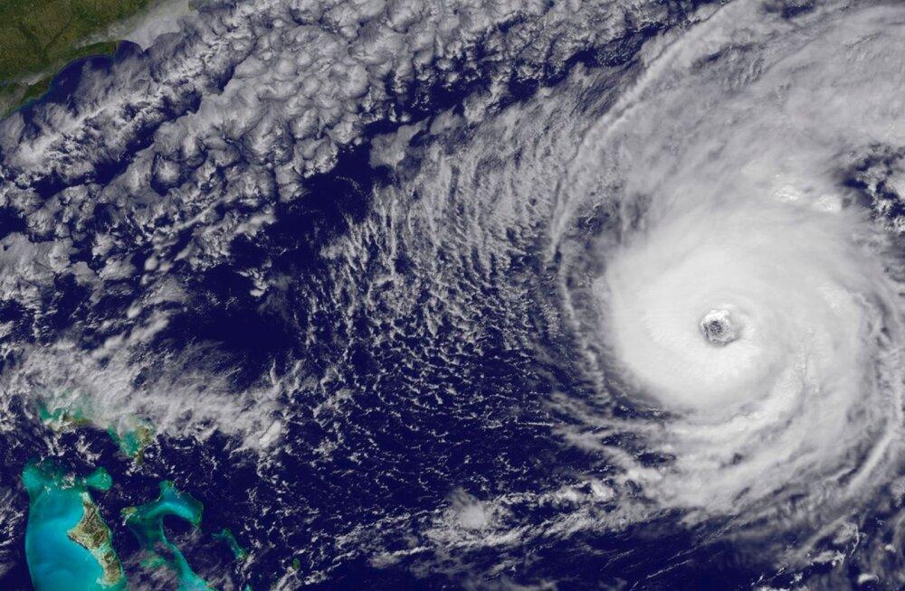 Orkaan Nicole tuiskas mullu üle Bermuda.