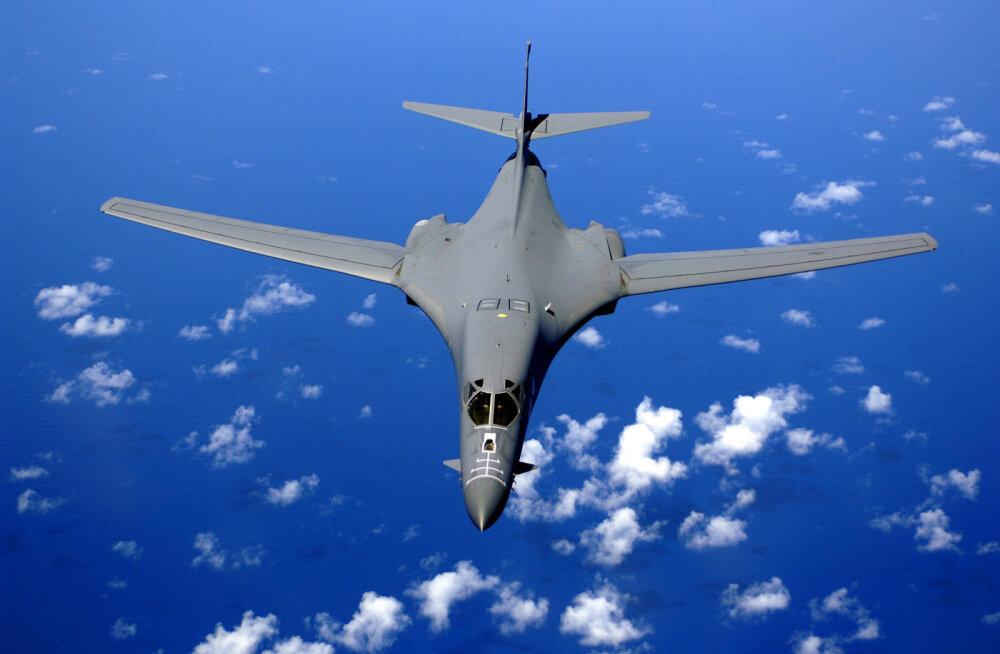 USA pidi tuntud pommitajate B-1 kasutamise ootamatult peatama