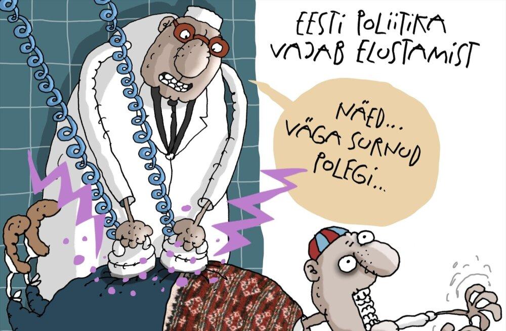 KARIKATUUR | Eesti poliitika vajab elustamist