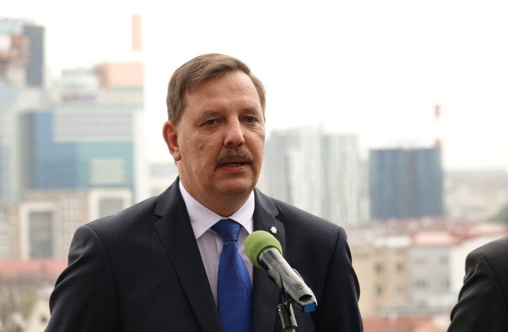 ФОТО: Кандидатом в мэры Таллинна от Центристской партии стал Таави Аас