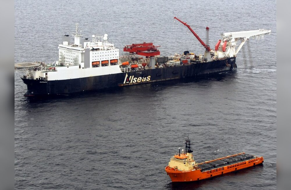 Nord Stream on lõpetanud teise gaasitoru paigaldamise Soome lahes