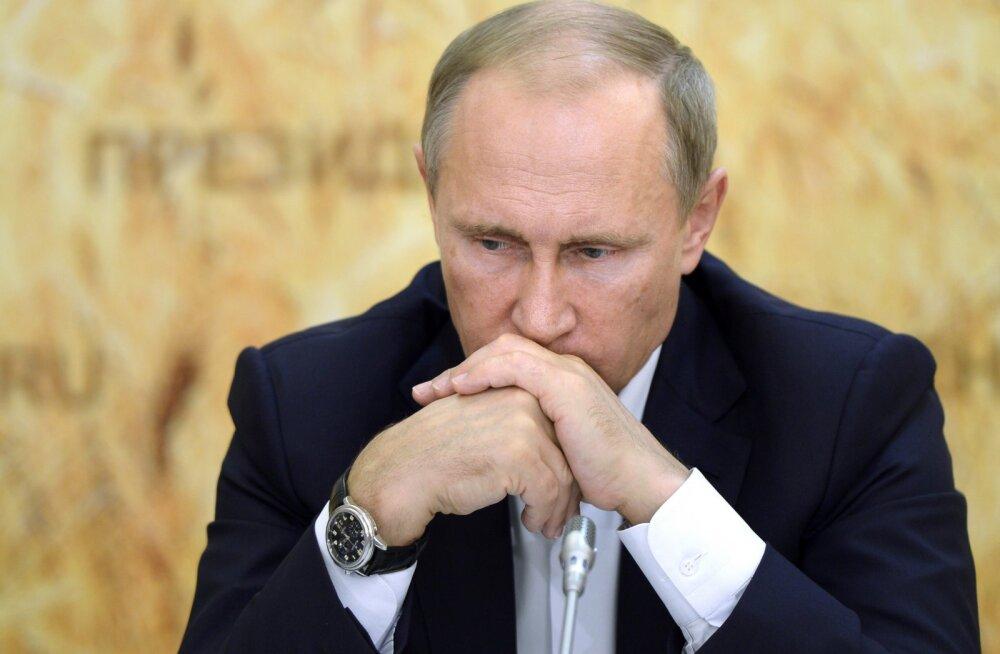 Vladimir Putin arutas nõunikega räpi leviku piiramist